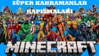 Minecraft | Süper Kahramanlar Kapışmaları |2| Hadiii !! W/mert