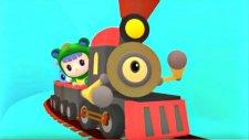 Çizgi film - Rubi ve Jojo - Tren gezisi - Pepee, Caillou ve Pocoyo kadar eğlenceli