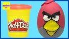 Dev Sürpriz Yumurta Angry Birds Oyun Hamuru Play Doh - Evcilik TV