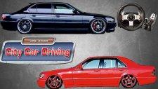 City Car Driving 1.5/Mersedes-Benz S600 vs BMW 750i E38