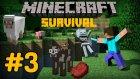 Minecraft Survival Çiftlik Bölüm.3  / İzogame