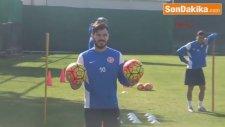 Antalyaspor'da Yekta İlk Antrenmanına Çıktı