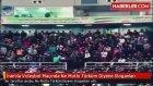 """İran'da Al-Kadir Spor Salonunda Voleybol Maçında """"ne Mutlu Türküm Diyene"""" Sloganları"""