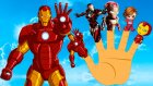Iron Man Finger Family Song