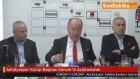 Antalyaspor Kulüp Başkanı Gencer'in Açıklamaları