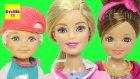 Barbie izle - Barbie Çocukları Can ve Ceren'i Doktora Götürüyor - EvcilikTV