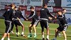 Beşiktaş'tan keyifli antrenman