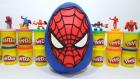 Oyun Hamurundan Dev Örümcek Adam Sürpriz Yumurtası | Paw Patrol Tom & Jerry Avengers Spider-Man TOYS