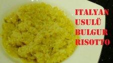 İtalyan Usulü Bulgur Risotto / 10 Numara Mutfak
