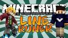 Minecraft The Lıne Parkour - Kafa S*ken Ve Karıştıran Parkur !! -Türkçe Parkur - W/azizgaming
