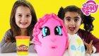 Dev Sürpriz Yumurta Pinkie Pie Oyun Hamuru Play Doh EvcilikTV