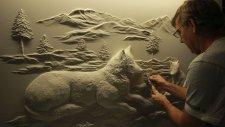 Duvarını Sanat Eserine Dönüştüren Sanatçı