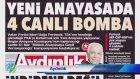 Görüntülü Türkiye gazete manşetleri 4 Şubat 2016