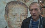 41 Bin Raptiye İle Cumhurbaşkanı Erdoğan'ın Tablosunu Yapmak