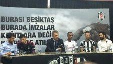 Beşiktaş'ın yeni yıldızları imzayı attılar