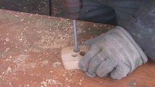Kıyma Makinesinden Masa Lambası Yapımı (Hipnoz Etkili)