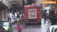 Suriyeli Ailenin Yaşadığı Metruk Binada Yangın 1'i Çocuk 2 Ölü