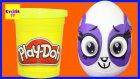 Dev Sürpriz Yumurta Minişler LPS Penny Ling Oyun Hamuru Play Doh EvcilikTV