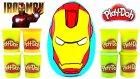 Iron Man DEV Sürpriz Yumurta Açma Oyun Hamuru Marvel Mashems Zombiez / Oyuncak Abi