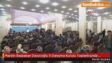 Mardin Başbakan Davutoğlu İl Danışma Kurulu Toplantısında Konuştu-2