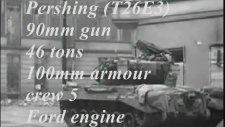 Battle Of Cologne - Panther ve Pershing Tanklarının Çarpışması