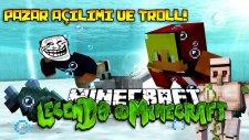 PAZAR İNŞAATI ve KORKUNÇ EŞŞEK ŞAKASI! - Minecraft | Legends in Minecraft : Bölüm 7