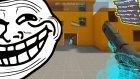 WALLHACK KODU İLE TROLLEMEK!! - CS:GO - 1V1