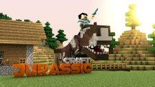 Yeni Dinozor Ve İnekler ! - Minecraft : Extreme Jurassic Craft  7  - Oyun Konsolu