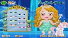 Baby Hazel Ice Princess Dressup