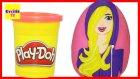 Dev Sürpriz Yumurta Sporcu Barbie Oyun Hamuru Play Doh EvcilikTV
