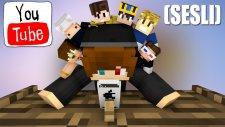 (SÜRPRİZ KONUK - SESLİ) Youtuberların Kanalı Hacklenseydi Ne Olurdu? - Minecraft Eğlenceli Film