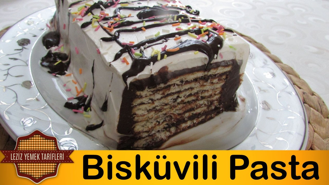 Bisküvili Tatlı Tarifi Videosu