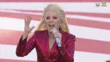 Lady Gaga - National Anthem (Super Bowl 2016 - Canlı Performans)