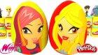 Winx Club Daphne ve Roxy 2 Sürpriz Yumurta Oyun Hamuru - 4. Sezon Cicibiciler