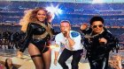 Beyonce ile Bruno Mars Düeti Super Bowl'a Damga Vurdu