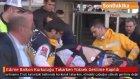 Edirne'de  Balkon Korkuluğu Takarken Yüksek Gerilime Kapıldı