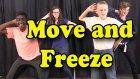 Move ve Freeze - Beyin Molaları - Hareketli ve Dondurarak - Çocuklar İçin Eylem Şarkıları