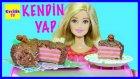 """Barbie Bebekler için Pasta Yapımı - Barbie izle - EvcilikTV """"Kendin Yap"""""""
