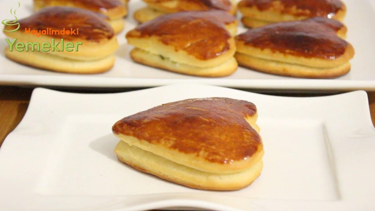 Peynirli Karnıyarık Poğaçası Tarifi Videosu