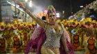 Neymar'ın kardeşi Rio Karnavalı'na damga vurdu