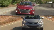 2017 Hyundai Elantra Sedan & 2016 Hyundai Elantra Sedan Karşılaştırma
