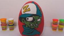 Dev Sürpriz Yumurta Açma - Zombiezz 2 Figürleri Sürpriz Oyuncaklar