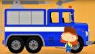 Eğitici çizgi film - Doktor Mac Wheelie bize renkleri öğretiyor - İtfaiye arabası - mutlucocuk