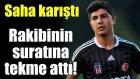 Eski Beşiktaşlı Muhammed Demirci Rakibini Böyle Tekmeledi'