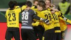 Stuttgart 1-3 Borussia Dortmund (09 Şubat Salı Maç Özeti)