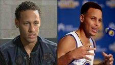 Curry'den Neymara şık asist