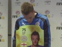 FIFA 16 Oyunundaki Puanını Beğenmeyen Jamie Vardy