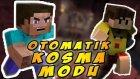 Steve Kendi Kendine Koşuyor - Minecraft Otomatik Koşma Modu - Minecraft 1.8.9 Mod Tanıtımı Türkçe