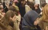 Üniversiteli Kadınlardan Ankara Metrosu'nda Eylem