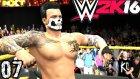 WWE 2K16 Kariyer Kötü | Cilgin Görevler | 7.Bölüm | Türkçe oynanış | Ps4
